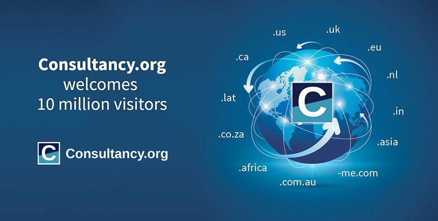 Consultancy.org welcomes 10 million visitors