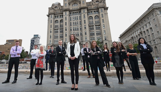 College students participate in work experience scheme in Liverpool