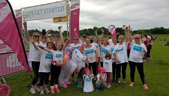 Reality HR takes part in Basingstoke Race for Life