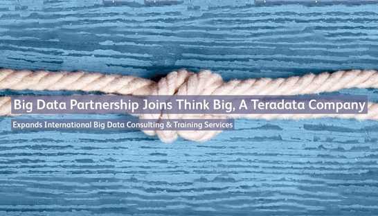 Teradata buys UK analytics consultancy Big Data Partnership