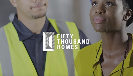 Professional services firms sign up to Fifty Thousand Homes pledge