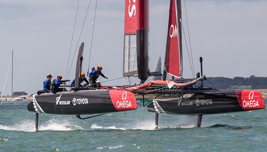 NCEC supports 35th America?s Cup with chemical services