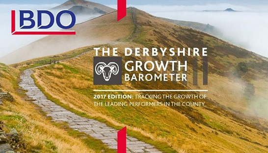 Top 50 mid-market players of Derbyshire enjoying strong growth