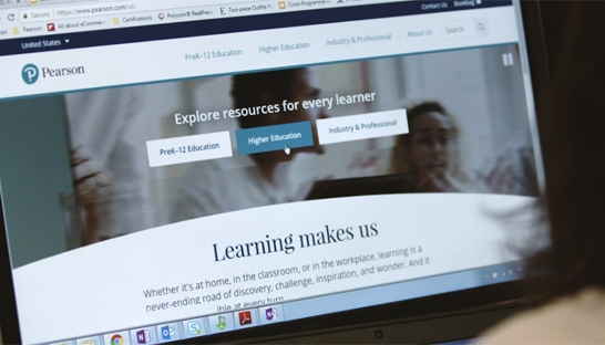 Pearson web-overhaul by Accenture shows consulting threat to ad firms