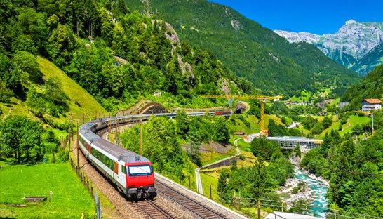 Switzerland host Europe's top train systems despite Nordic challenge