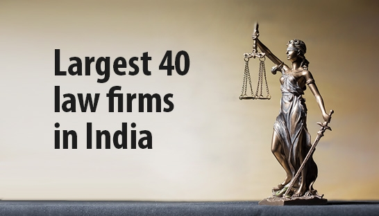 Legal market worth $1.3 billion, the top | largest 40 law firms in India