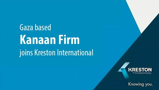 Kreston completes Palestine presence with Gaza based Kanaan Firm