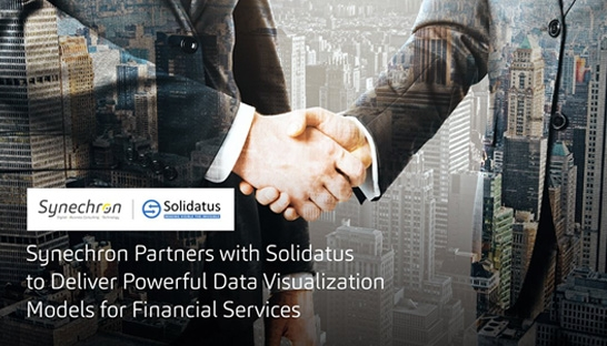 Synechron partners with Solidatus to deliver data visualisation for financial services