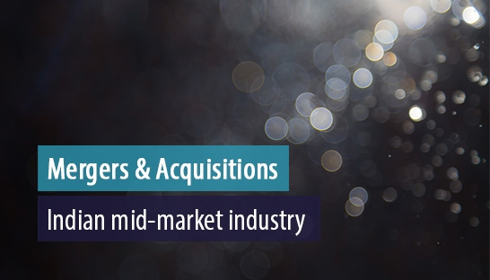 M&A activity in Indian mid-market industry slows to $18 billion