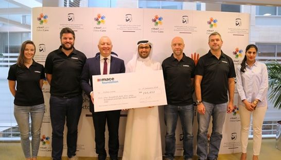 Dubai Cares education programmes supported by Mace fundraising