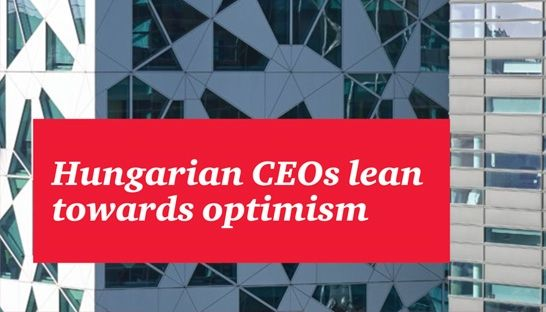 Hungarian CEOs are optimistic about future, despite challenges