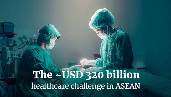 ASEAN-6 healthcare sector facing $320 billion black-hole, says new report