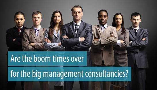 Are the boom times over for the big management consultancies?