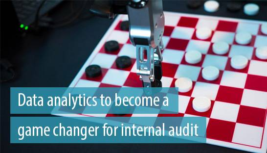 Data analytics to become a game changer for internal audit