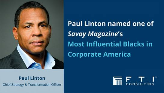 Top consultants named among Most Influential Blacks in Corporate America