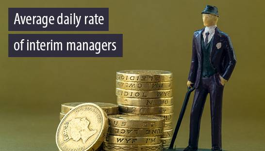 Average daily rate of interim managers jumps to £93 per hour