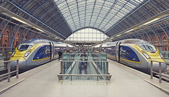 Roland Berger studying low cost trains between Paris and London