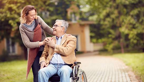 Ageing England 'left behind' in terms of global social care funding