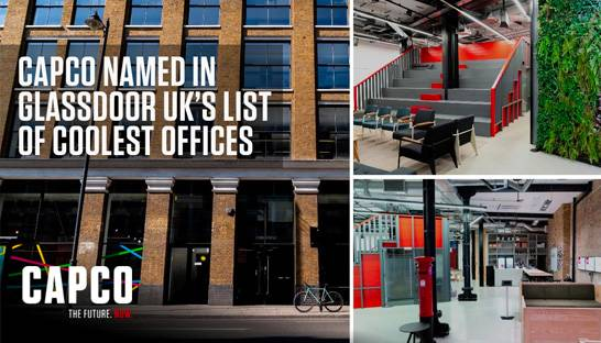 Capco's London office named one of the coolest places to work in UK