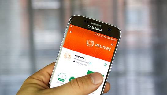 Reuters' less is more app approach can prove successful, says consultant