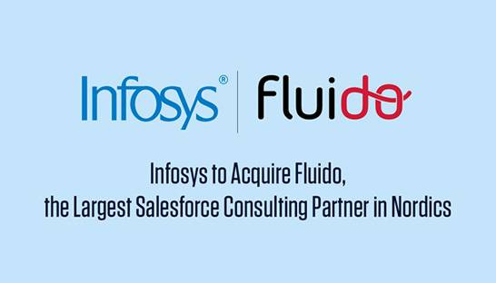 Infosys Consulting buys Finnish Salesforce partner Fluido Oy for €65 million