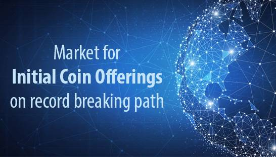 Market for Initial Coin Offerings on record breaking and maturing path