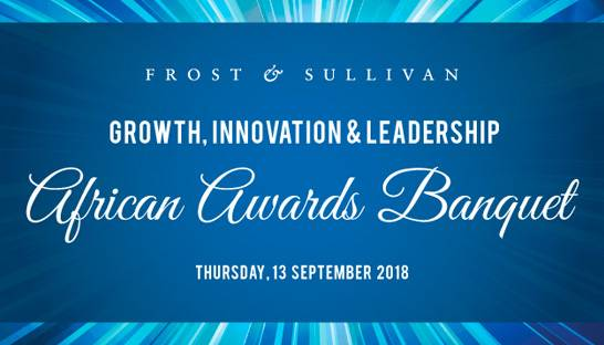 Frost & Sullivan holds tenth annual African Best Practices award ceremony