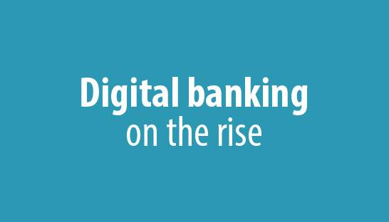 Digital bank platforms rise as co-operation with FinTechs grows