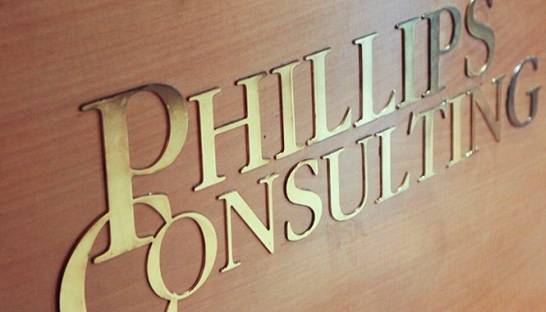 Phillips Consulting sponsors this month's NSACC Monthly Breakfast meeting