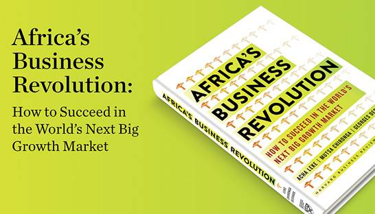 McKinsey & Company launches book 'Africa's Business Revolution'