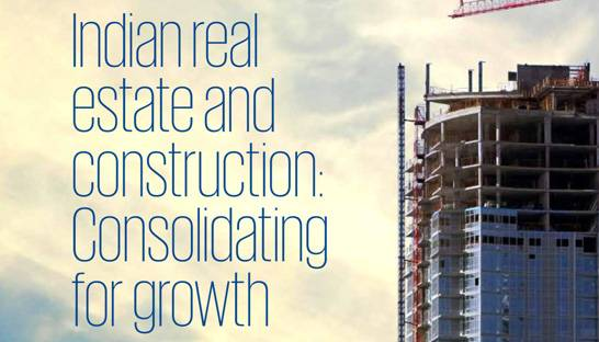 Real estate market in India growing due to favourable policies