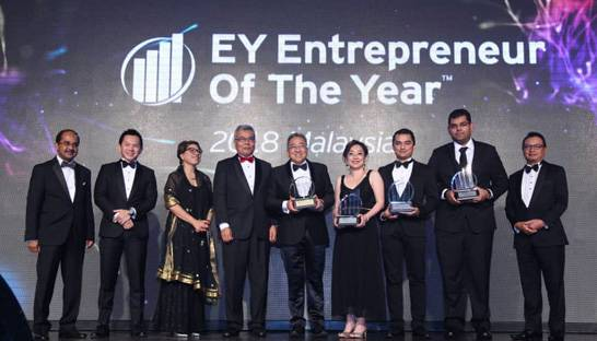 Song Hoi-see named as EY Entrepreneur of the Year for Malaysia