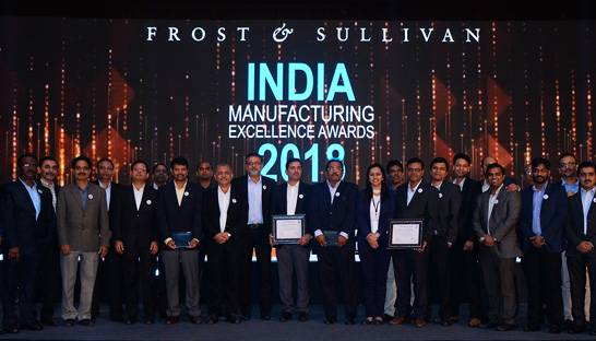 Frost & Sullivan holds 15th edition of India Manufacturing Excellence Awards