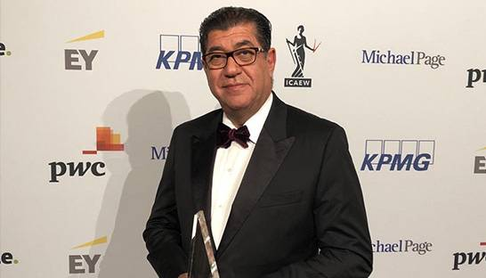 KPMG Bahrain managing partner Jamal Fakhro honoured by industry peers
