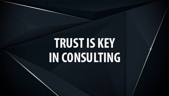 Why building trust and brand belief is key for consulting firms