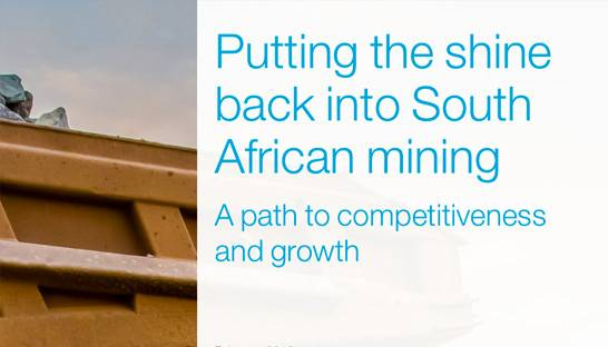 The four paths to growth and competitiveness for South African mining