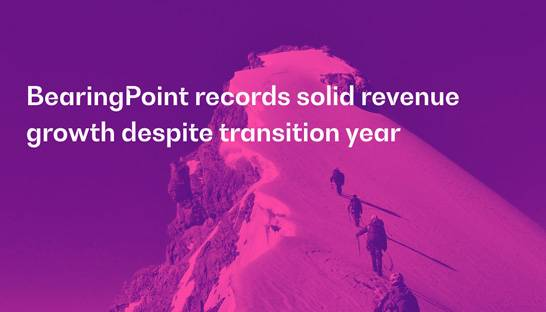 BearingPoint records solid revenue growth despite transition year