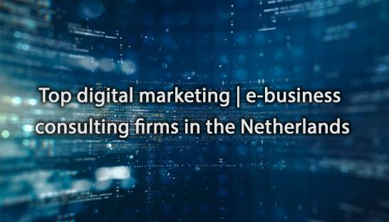 Top digital marketing | e-business consulting firms in the Netherlands