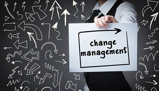 Change management should be considered from the start