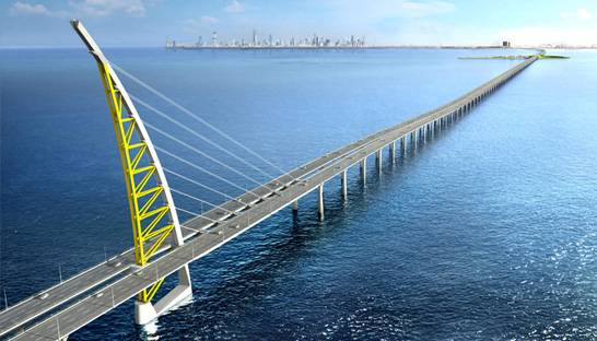 Kuwait inaugurates the world's fourth longest sea-bridge