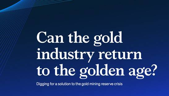 Global gold industry sees signs of post-crash revival