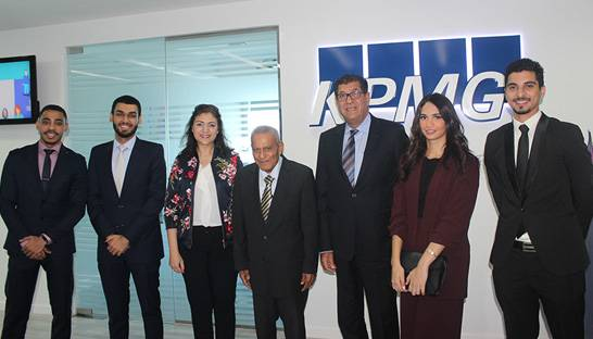 KPMG Bahrain supports students attending audit simulation studies in Asia