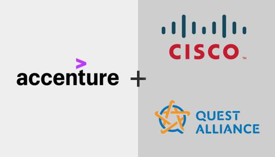 Accenture to partner with Cisco and Quest Alliance to offer digital training