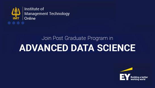 EY supports new Advanced Data Science Programme launched by IMT CDL