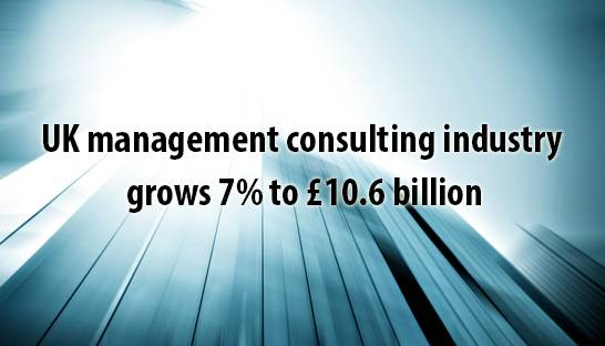UK management consulting industry grows 7% to £10.6 billion