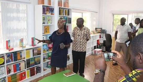 WestBlue Consulting establishes library in Accra to support child literacy