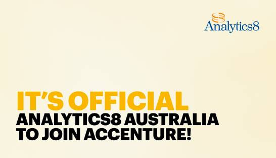 Accenture bolsters data analytics arm with Analytics8 acquisition