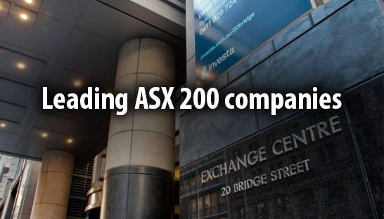 ASX 200 companies that notably outperform their peers