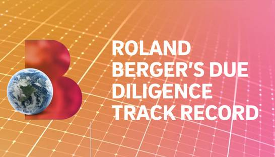 Roland Berger's due diligence tally nears 1,300 in three years