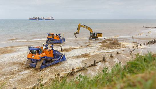 Royal Haskoning supports UK's first sandscaping scheme